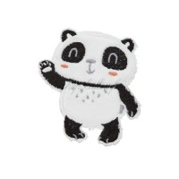 Ecusson thermocollant panda debout