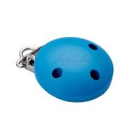 Clip attache Tétine, coloris bleu paon (1 pièce)