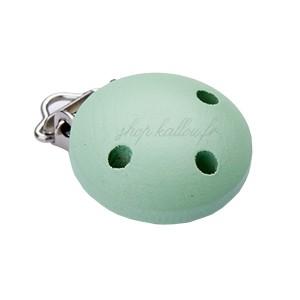 Clip attache Tétine, coloris vert pastel (1 pièce)
