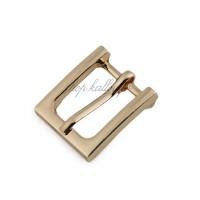 Boucle de ceinture métal carrée pour sac, coloris or, pour sangle 15 mm