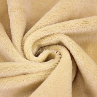 Tissu minkee beige, Shorty de la marque Kullaloo, coupon de 75x100cm