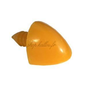 Bec oiseau type poule orange sécurisé, bouche oiseau, 17mm pour peluche