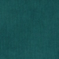 Chute de 35 cm de Tissu Velours cotelé milleraies, coloris canard colvert