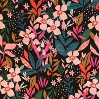 Chute de 38cm de Tissu Rayonne soirée, collection Studio Secret Garden designer Dashwood Studio