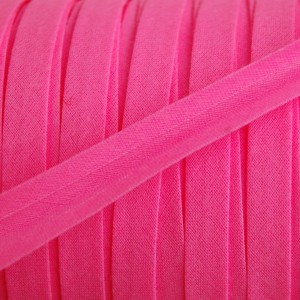 Biais fluo rose