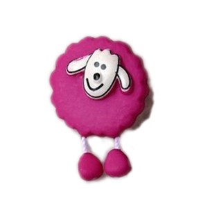 Bouton Mouton Fushia