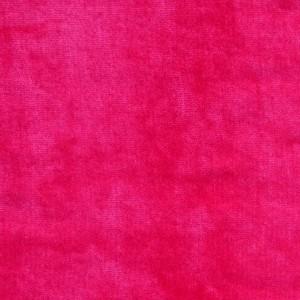 Velours de coton, coloris fushia (x 50 cm)