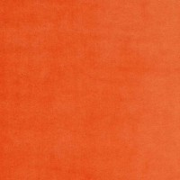 Velours de coton, coloris orange (x 50 cm)
