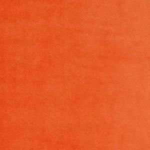 Velours de coton, coloris orange (x 50 cm)