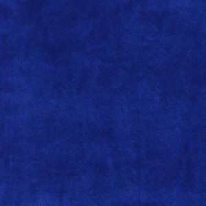 Velours de coton, coloris bleu roi (x 50 cm)