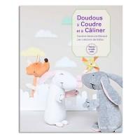 """Livre """"Doudous à coudre et à caliner"""" par Caroline Venencie Menard"""