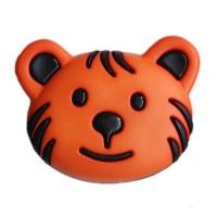 Bouton Tigre Orange