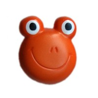 Bouton Grenouille Orange