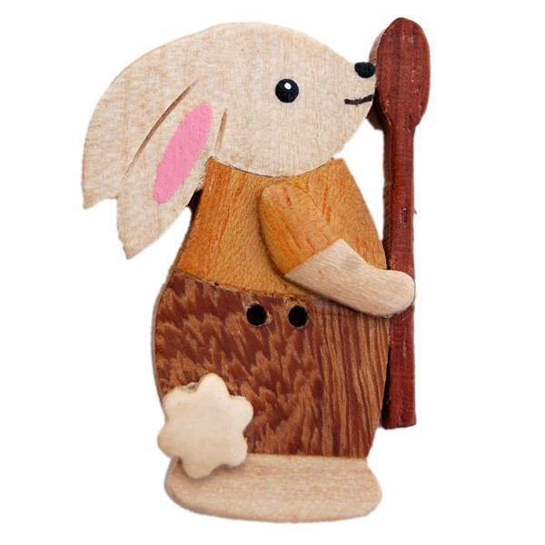 Bouton lapin la cuill re en bois les moutons de kallou - Le coup de la cuillere en bois ...