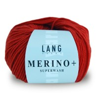 Laine Lang, Merino + Coloris Orange/Rouille  ~90m/50g