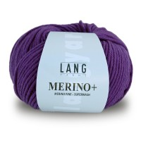 Laine Lang, Merino + Coloris Purple  ~90m/50g