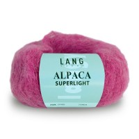 Laine Lang, Alpaca Superlight Coloris Rose Fuchsia  ~199m/25g