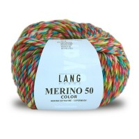 Laine Lang, Merino 50 Color Coloris Printemps ~90m/100g