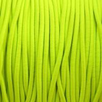 Élastique rond 3 mm  Fluo jaune