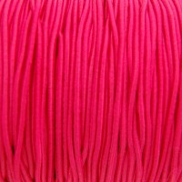 Élastique rond 3 mm Fluo rose