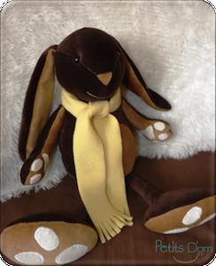 Doudou lapin pablo
